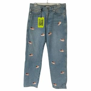 Fiorucci Safety Jeans Vito All Over Angel 30x32